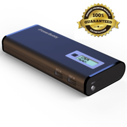 Portable Phone Charger For iPhone,Samsung,Tablets - iPowerBuddy 10000mah Dual Port USB Portable Charger External Battery Pack For iPhone 6 Plus 5S 5C 5 4S,iPad - 7 Forms Of Short Circuit Protection