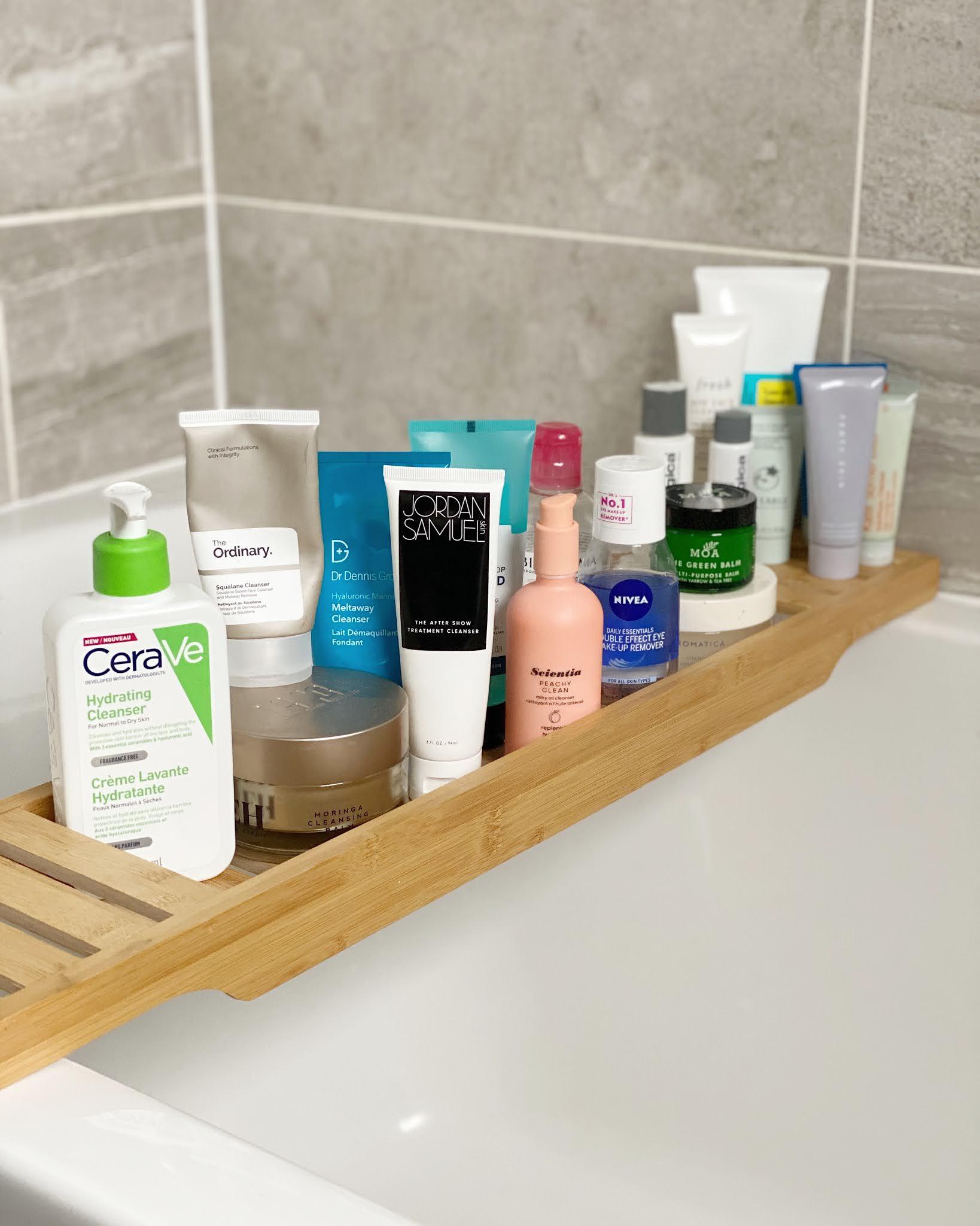 danielles beauty blog cleanser collection