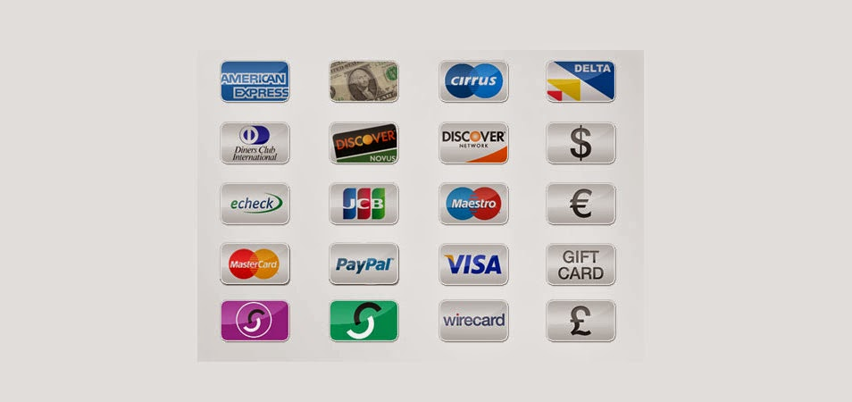 Free Payment Option Icons(PNG)