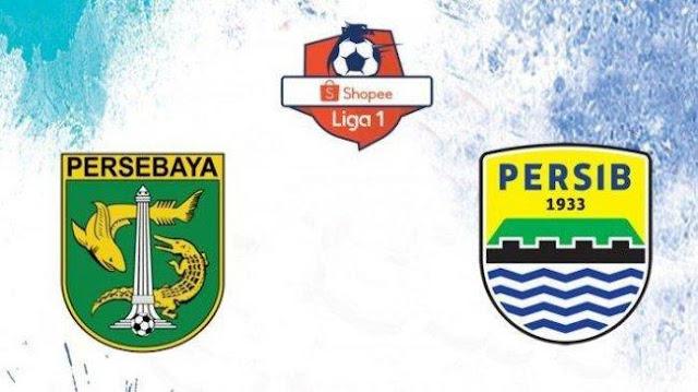 Hasil Pertandingan Persebaya vs Persib Bandung