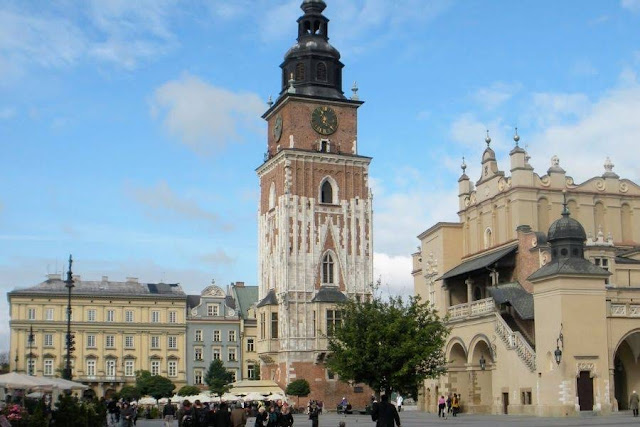 Weekend Break in Krakow Poland: Krakow Town Hall