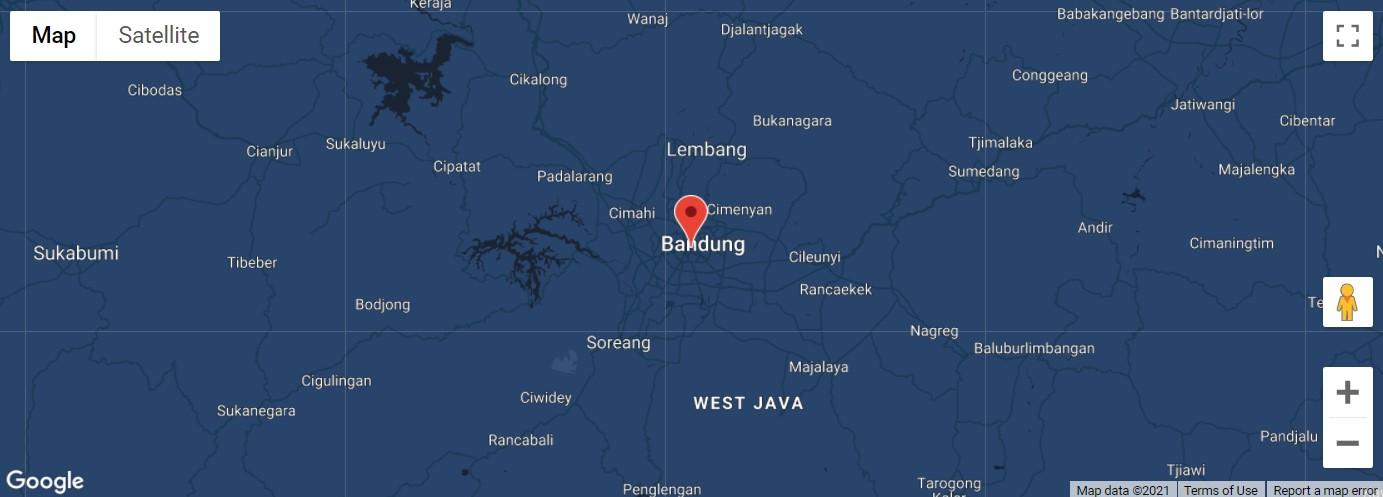 Contoh Google Maps Javascript API