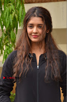 Actress Ritika Singh Stills at Guru Movie Success meet  0059.JPG
