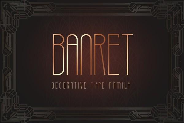 Banret Font Family