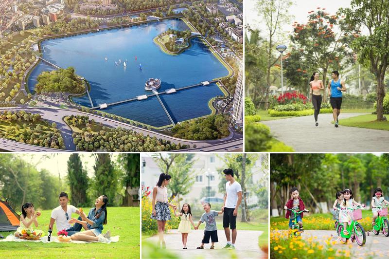 4 lợi ích của hồ nước điều hòa trong các khu đô thị hiện nay