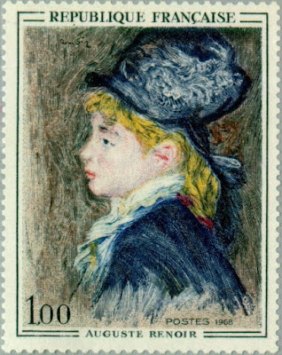 France -1968- Art Work Paintings - Auguste Renoir