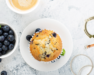 Blueberry superfood muffin