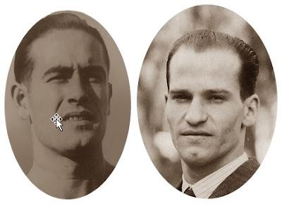 Los ajedrecistas Esteve Pedrol y Jaime Casas