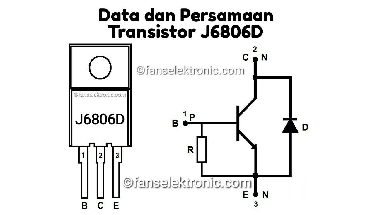 Persamaan Transistor J6806D