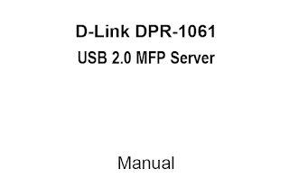 D-Link DPR-1061 Manual