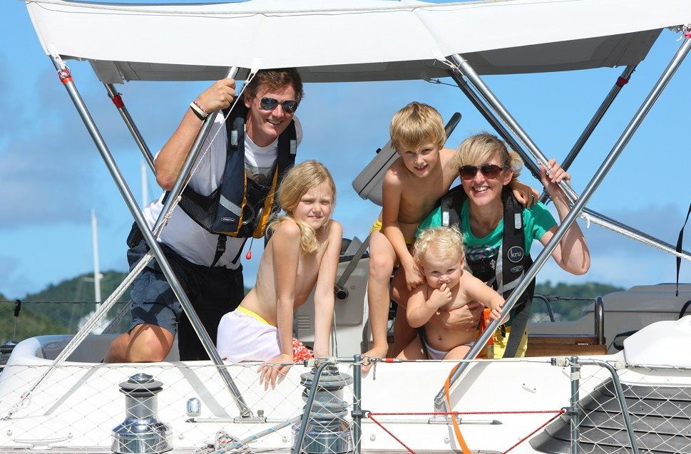 Family Sailing With Babies