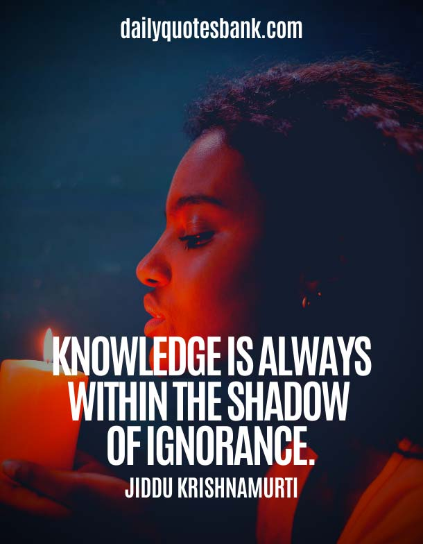 Famous Jiddu Krishnamurti Quotes