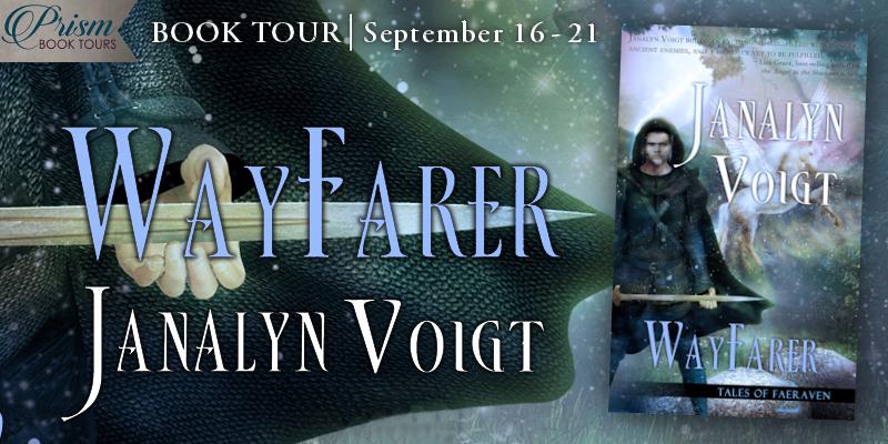 We're launching the Book Tour for WAYFARER by Janalyn Voigt! #WayfarerTour
