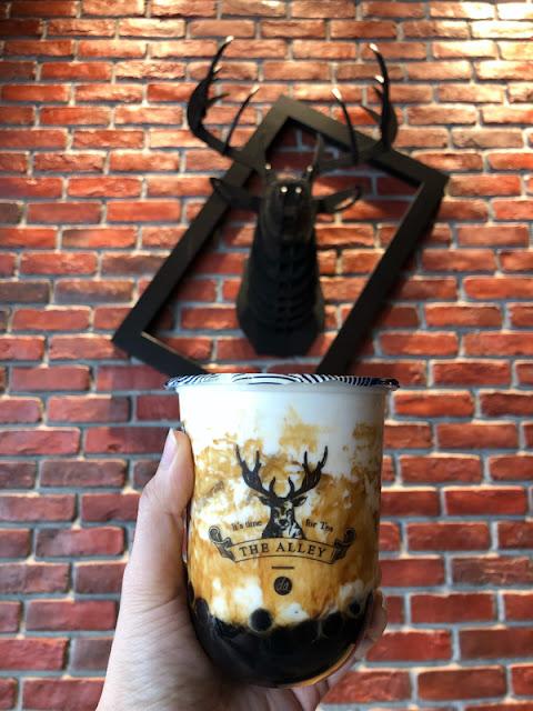 鹿角巷 THE ALLEY - 黑糖鹿丸鲜奶