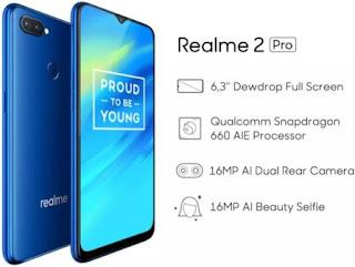 Harga Realme 2 dan Realme 2 Pro Beserta Spesifikasinya