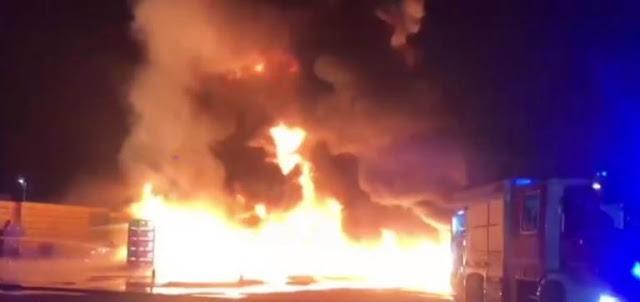"ULTIM'ORA. Brucia la ""OP Natura Dauna"" di Carapelle. Incendio doloso"