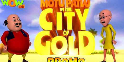 Motu Patlu In The City Of Gold (Hindi)