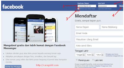 Masuk Akun Facebook