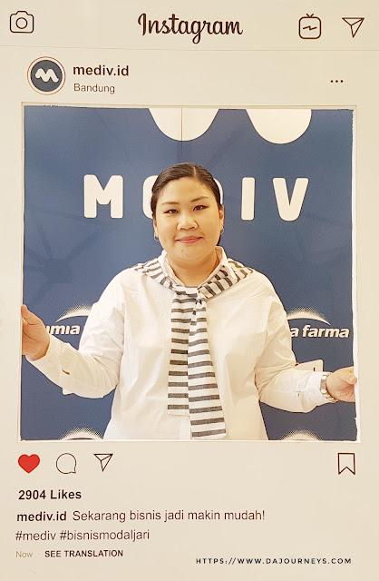 Bisnis modal jari dari Roadshow Mediv di Bandung