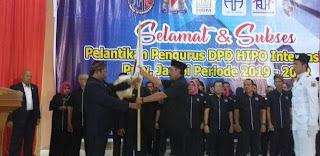 Kemas Uzer Pimpin HIPO Provinsi Jambi Periode 2019-2022.