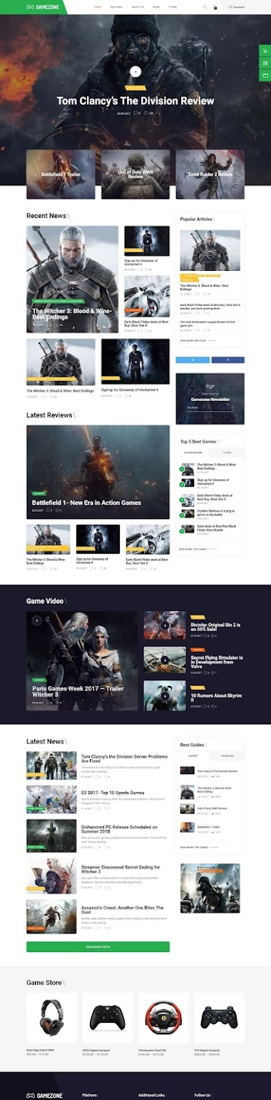 Video Games Store E-Cоmmеrсе Wеbsite Design By AJ Agency