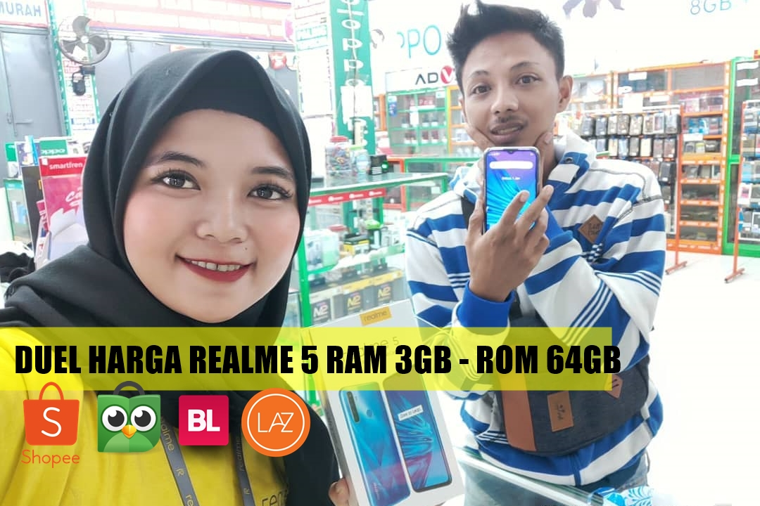 Perbandingan Harga Realme 5-IGlaras.realme