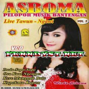 Various Artists - Asboma Vol. 5 (Live Tawun - Ngawi) 2015 Album cover