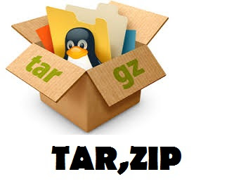 TAR and ZIP command in linux -www.techiev.com