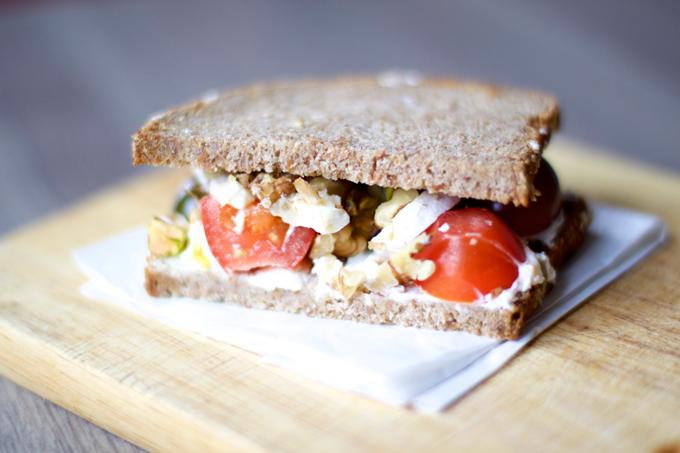 Receta sándwich 5 para conquistar