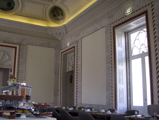 sala de pequeno almoço
