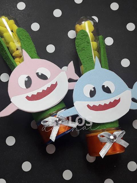 tubetes personalizados baby shark