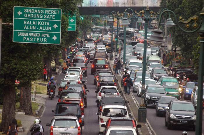 Menjelang Lebaran 21 Ribu Kendaraan Memasuki Kota Bandung