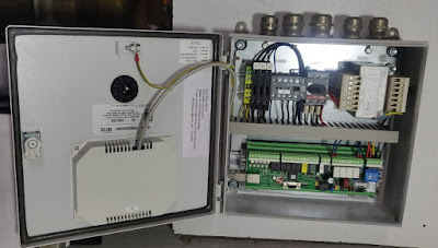 Boll Filter electronic control panel type-2200 controller 430 2200