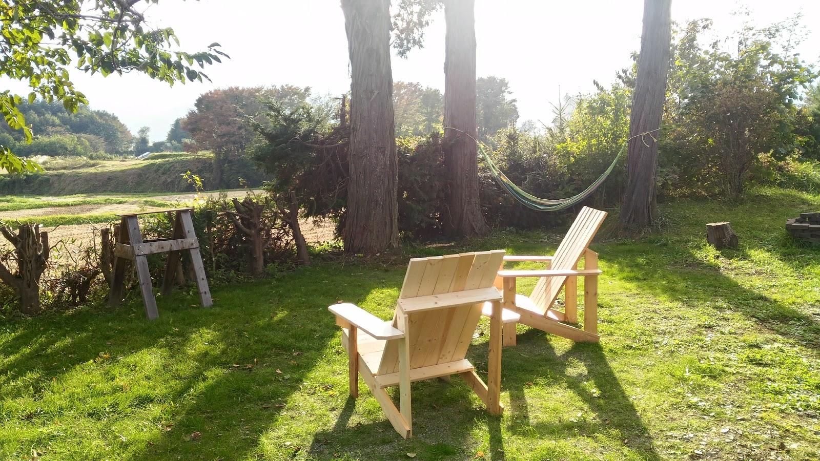 Adirondack Chairs Portland Oregon Swivel Chair Jysk 2x4を使ったアウトドアチェアの簡単diy