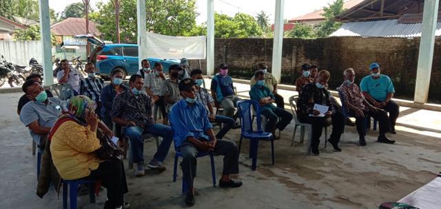 Terjadi Perselisihan Antar Warga, Personel Jajaran Kodim 0207/Simalungun Hadiri Mediasi