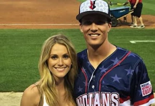 Tyler Glasnow With His Girlfriend