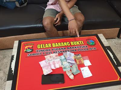 Polda NTB Ringkus Tiga Tersangka Kasus Narkoba di Lotim