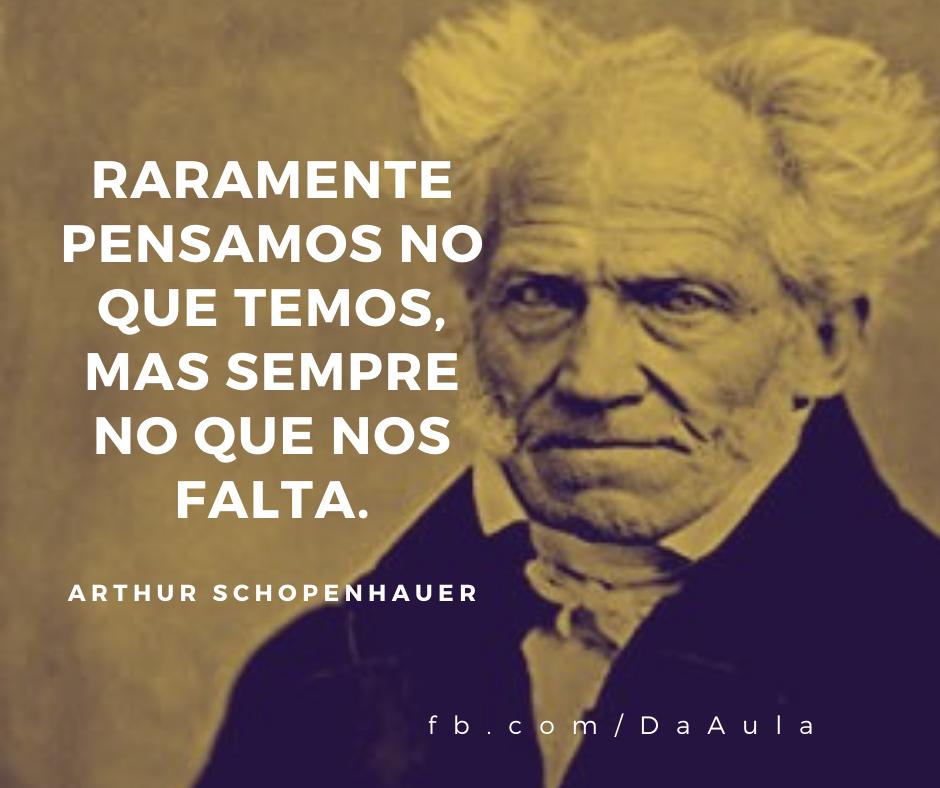 Quem foi Arthur Schopenhauer