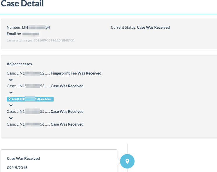 Fan+: USCIS case tracking service upgraded