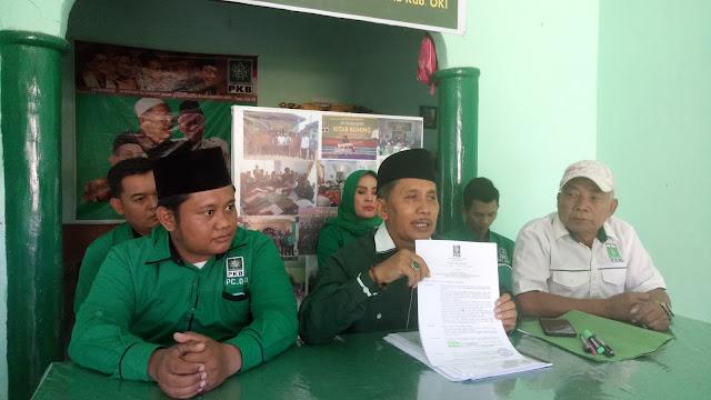 Diduga Tiga Kader PKB OKI Palsukan Surat PCNU