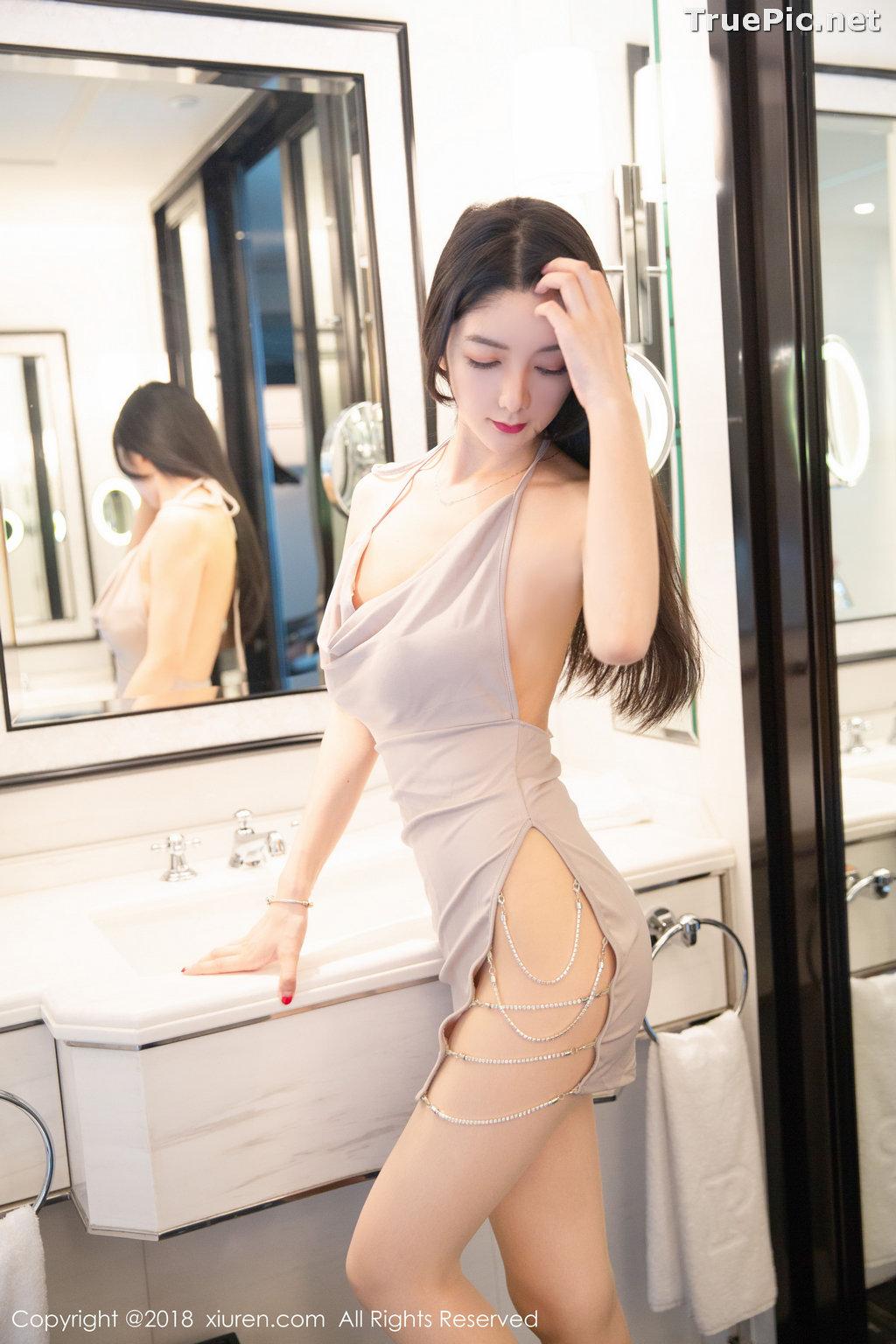 Image XIUREN No.1141 - Chinese Model - Xiao Reba (Angela小热巴) - Sexy Dress Tonight - TruePic.net - Picture-27