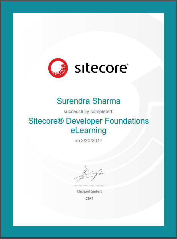 Learning lessons for Sitecore, C#, .NET, SQL Server: Sitecore ...