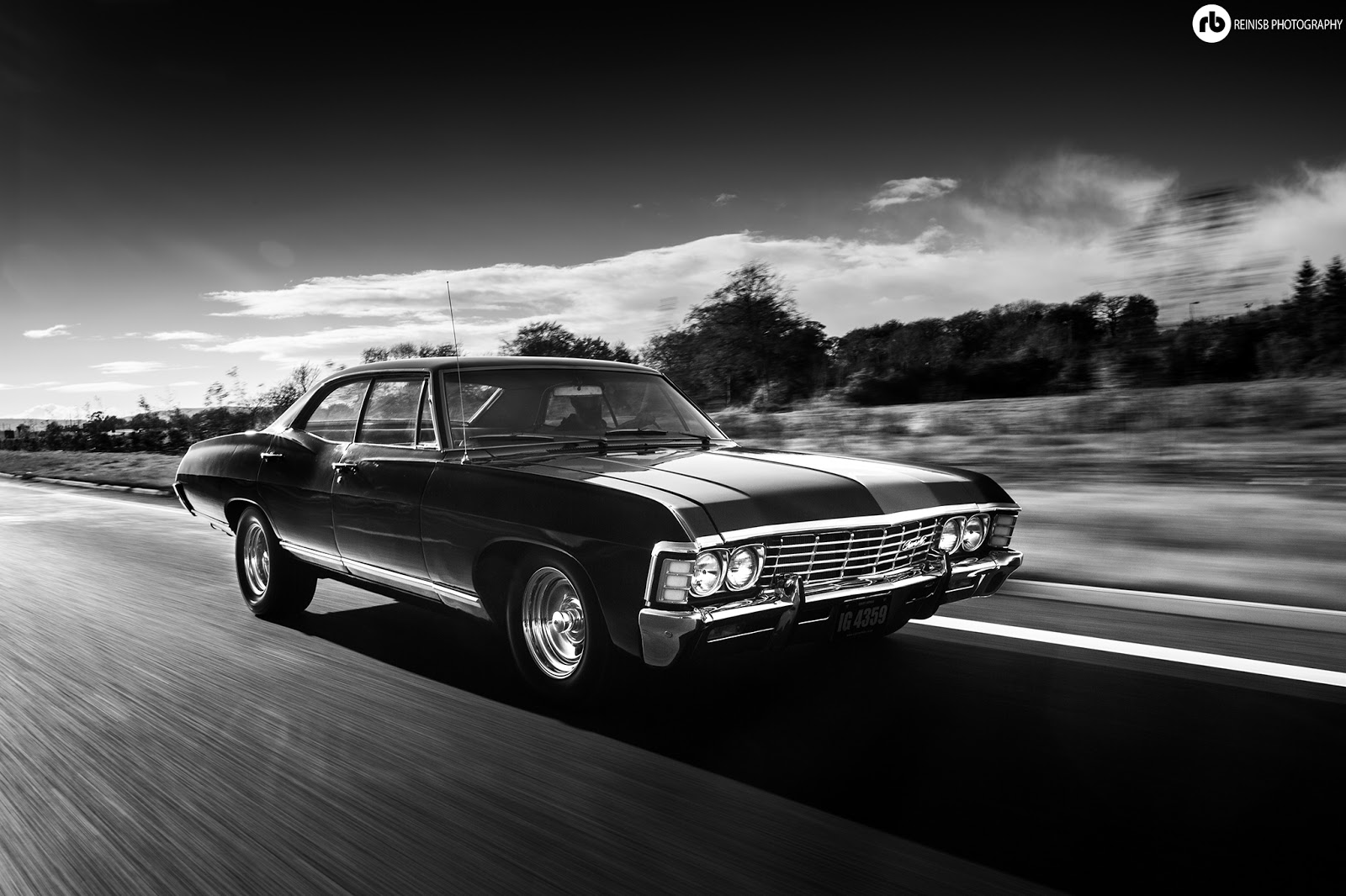 Reinis Babrovskis Photography 1967 Chevy Impala Supernatural