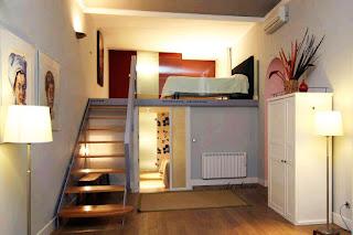 Contoh Desain Kamar Tidur Sempit Ukuran 3×3 Room inside room
