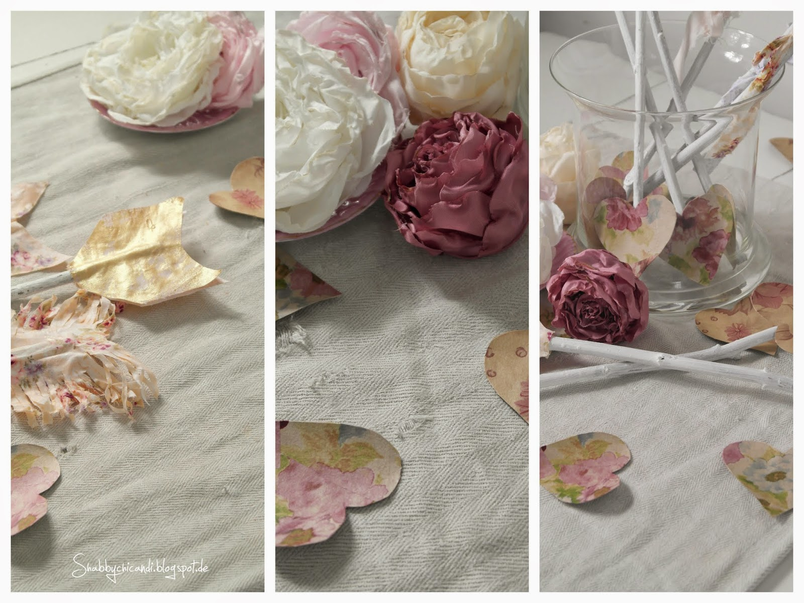 Arrows for Shabby chic Valentines