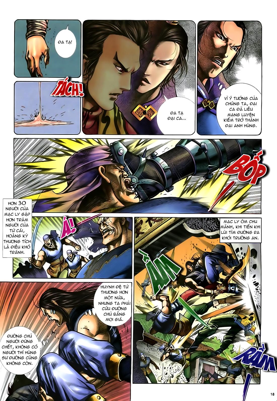 Anh hùng vô lệ Chap 24 trang 19