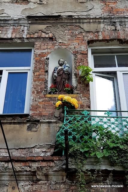 Warszawa Warsaw warszawskie kapliczki przydrożne Praga Północ