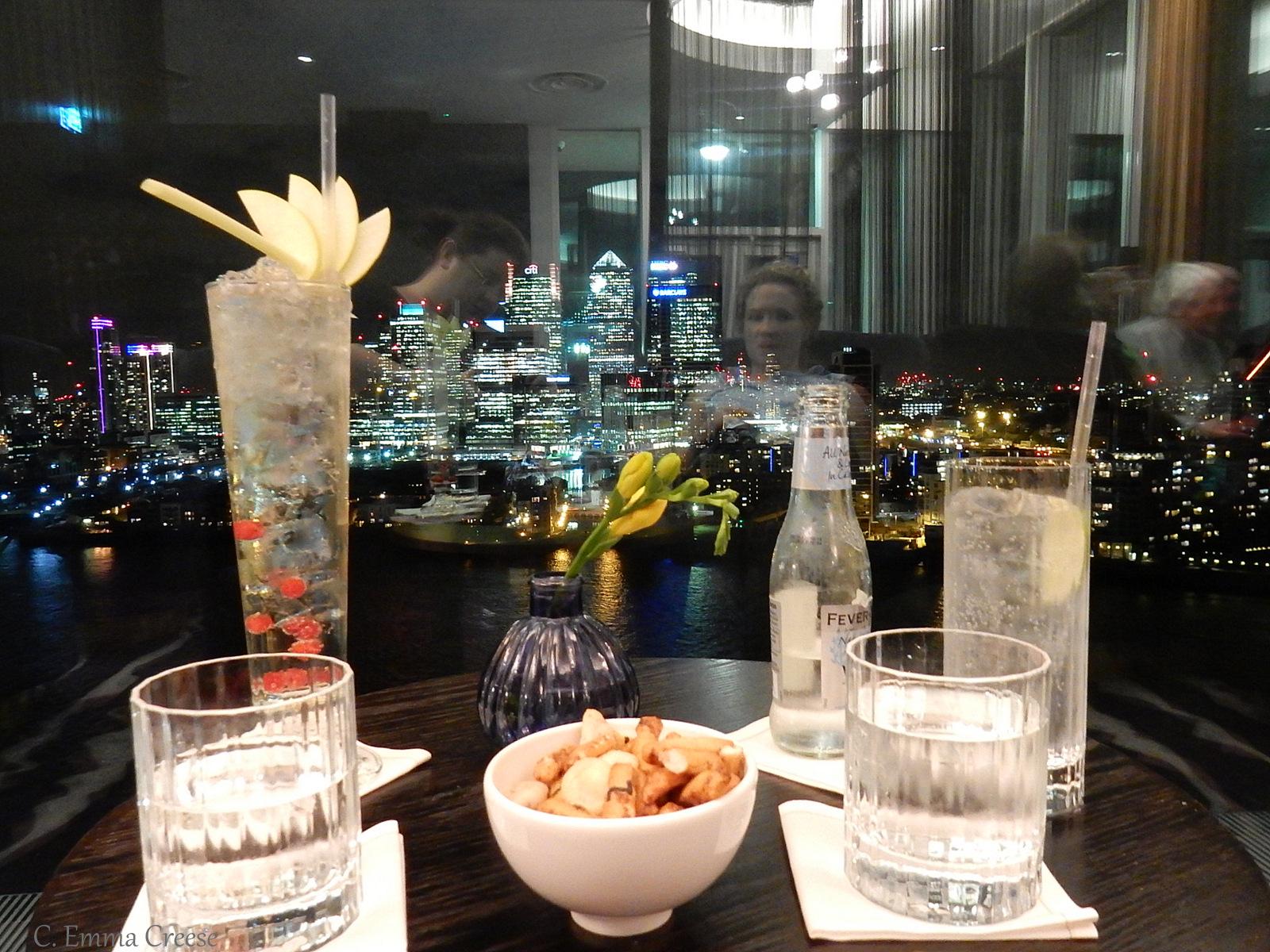 Peninsula Restaurant at the Intercontinental Hotel: A girl's night