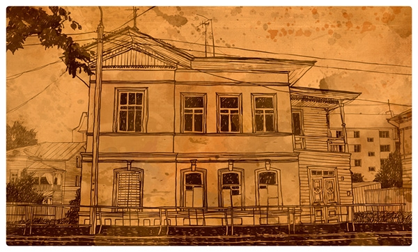 07-Evgeniy-Rodionov-Евгений-Родионов-Architectural-Drawings-with-a-Striking-Background-www-designstack-co