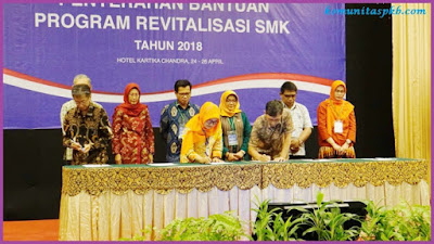 Program Revitalisasi SMK oelh Kemdikbud Tahun 2018